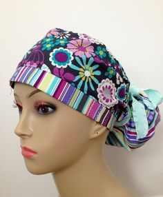 Scrub Hat On Pinterest Hats Patterns And Scrubs Pattern