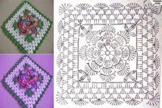 World crochet: Motive 77