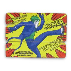 Placa de Madeira Kiking Joker