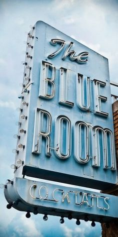 The Blue Room, NYC Wouldn't go there now but, really neat name.