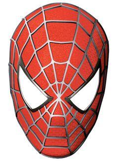 Maschera di Spider-Man da stampare e ritagliare