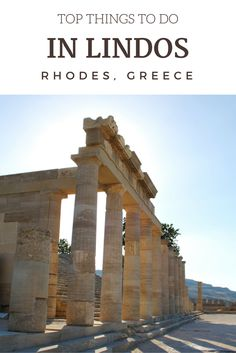 The Lindos Acropolis, Rhodes, Greece Europe Travel Tips, European Travel, Travel Destinations, Travel Goals, Greece Vacation, Greece Travel, Greece Photography, Travel Photography, Places Around The World