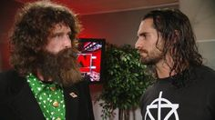 Seth Rollins confronts Mick Foley: Raw, Sept. 12, 2016