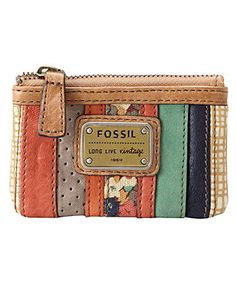 Fossil Emory Zip Coin Purse $30  One of my favorite lines.