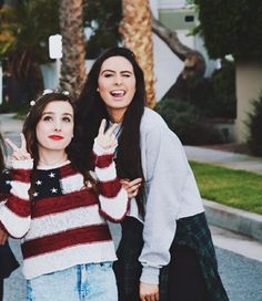 Lauren and Amy Cimorelli 2015 photoshoot