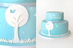 Francisco's Christening Cake