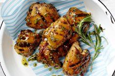 Grilled Rosemary-Mustard Chicken