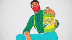 MTN Dew - History :30. As part of Mountain Dew's new logo launch, the brand team at Pepsi asked us to conceive, direct and produce a short a...