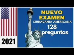 NUEVO EXAMEN DE CIUDADANIA AMERICANA 2021 EN ESPAÑOL.128 PREGUNTAS ACTUALES. - YouTube American English, Youtube, Movies, Movie Posters, Films, Film Poster, Cinema, Movie, Film