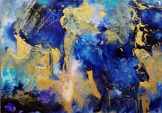 """Beauty Abounds by Aleta Pippin, 8x11.5"""" framed, acrylic/resin/panel, $500. #abstractart #artgifts #holidaygiftguide"""