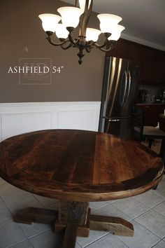 Round Tables - HD Threshing | Reclaimed Wood Furniture