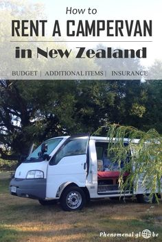 Check the ultimate guide to renting a campervan in New Zealand! Read about costs, necessary additional items and insurance. Brisbane, Sydney, New Zealand Itinerary, New Zealand Travel Guide, Travel Advice, Travel Guides, Travel Tips, Travel Destinations, Travel Hacks