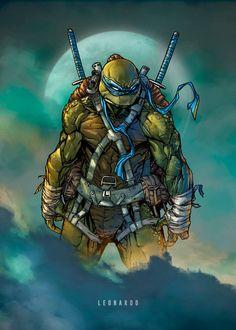 MNT Teenage Mutant Ninja Turtles project with Raymond Gay (inks) and my colors Leonardo Paciarotti Di Maggio Leonardo! idwpublishing Hope you like! Comic Book Characters, Comic Character, Comic Books Art, Comic Art, Teenage Mutant Ninja Turtles, Ninja Turtles Art, Nija Turtles, Arte Dc Comics, Bd Comics