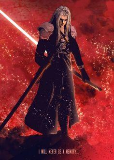 sephiroth final fantasy sword soldier