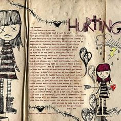 Hurting by Stampin Rachel at The Lily Pad