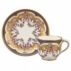 Sevres-Porcelain-Cup-and-Saucer-Lot-306