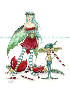 Fairy Art Artist Amy Brown: The Official Online Gallery. Fantasy Art, Faery Art, Dragons, and Magical Things Await. Amy Brown Fairies, Dark Fairies, Dragons, Unicorns And Mermaids, Fairy Pictures, Fantasy Dragon, Elves Fantasy, Fantasy Fairies, Christmas Fairy