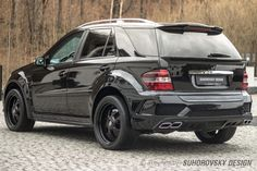Wide body kit for Mercedes-Benz ML by Suhorovsky Design. body kits give your car an incredible racing-look. Mercedes Benz Ml350, Mercedes Benz Cars, M Class, Wide Body Kits, Fender Flares, Hot Bikes, Life Pictures, Hot Cars, Used Cars