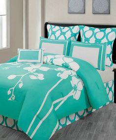 7-Piece April Comforter Set- love the colour!!!