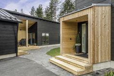 Honka Markki - Step into an urban log home - Honka