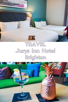 Jurys Inn Hotel Brighton, a review of the hotel and restaurant from a family friendly perspective!