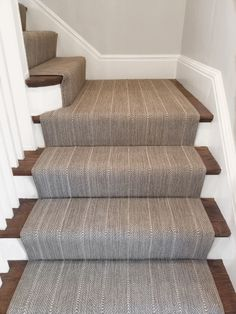 We are the carpet and rug experts in Boston. We will custom fabricate stair runners, area rugs and hall runners to fit your home perfectly. Carpet Staircase, Staircase Runner, Modern Staircase, Staircase Design, Stair Runners, Spiral Staircases, Staircase Ideas, Narrow Hallway Decorating, Br House
