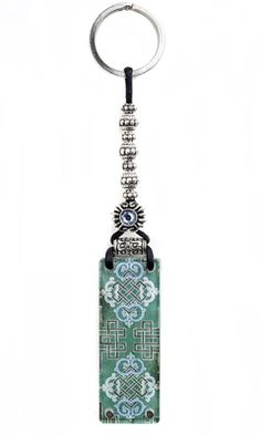 Door of Opportunity Beaded Key Chain with Swarovski Crystal