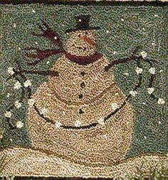 To-do, Frosty Flakes, punchneedle
