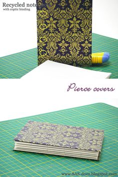 Recycled notebook tutorial part 1 | SAS does ...: Recycled notebook tutorial part 1