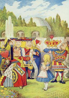 John Tenniel: The Queen Has Come
