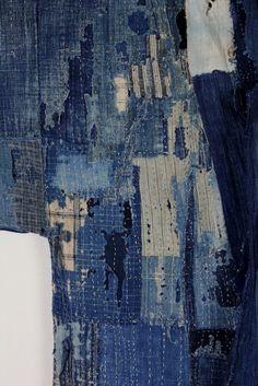 古布 木綿 襤褸0 BORO cotton Japanese antique textile | 京都から古布のご紹介
