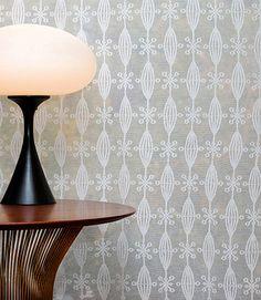 Modern Cotton Lace Curtains | Galaxy Lace Panel | Bradbury & Bradbury