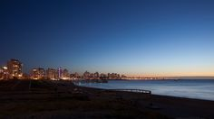 Trendy and fashionable, Punta del Este is a small city and beach resort that can offers beautiful sunset