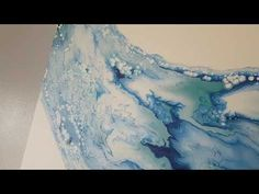 "Swirl It Baby - 24""×24"" - Fluid Painting - YouTube"