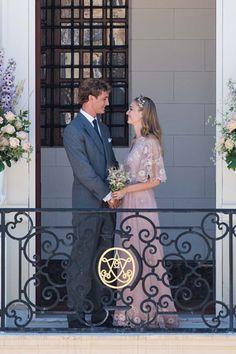 Beatrice Borromeo Pierre Casiraghi Wedding Valentino Dress (Vogue.co.uk)