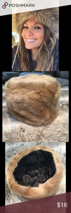 Faux Fox Fur Russian Hat WAS $16 Polyester Faux Fur hat. One Size. Price is firm unless bundled. Accessories Hats