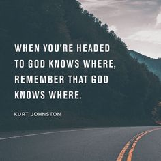 Remember your identity remain in community resist insecurity reject conformity and run after humility and remember God knows where you're headed.