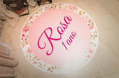 """Decoração """" Rosa"""""""