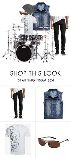 """""""Untitled #204"""" by rosshandmadecrafts ❤ liked on Polyvore featuring Balmain, Alexander McQueen, Outdoor Research, men's fashion and menswear"""
