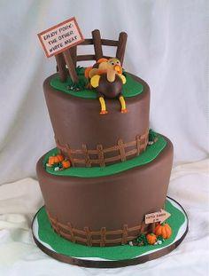 Eat More Chicken Cake