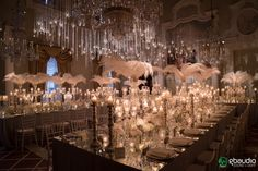 Amazing setup by Vincenzo Dascanio in Gatsby style at Four Seasons Hotel Florence. Lighting and structures by GBAudio Florence Hotels, Gatsby Style, Four Seasons Hotel, Italy Wedding, Engagement Shoots, Ceiling Lights, Table Decorations, Lighting Ideas, Amazing