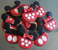 Minnie and mouse