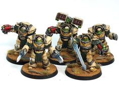 Deathwing Commission Complete warhammer 40k 2 space marines showcase deathwing 6th ed deathwing commissions  warhammer terminator gw Gaming/...