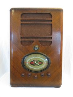 Vintage 30s Old 16 Tube Lafayette Art Deco Huge Walton Size Depression Era Radio   eBay