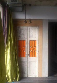 Simona Rizzi Interior Designer Bucharest, Romania www. Bucharest Romania, Concrete, Curtains, Interior Design, Projects, Facebook, Home Decor, Happy, Nest Design