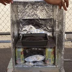 Cardboard Box Oven // #outdoors #camping #hacks #lifehacks