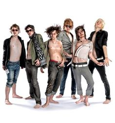 Forever the Sickest Kids - such great personalities; what a great bunch of guys
