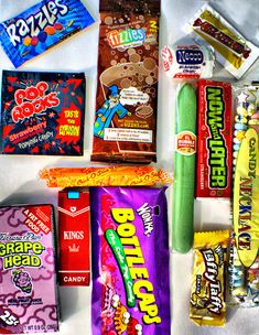 Candy from the 70's. Brings back some memories. Loved all of these!