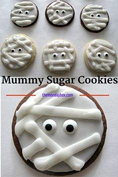 Mummy Sugar Cookies-
