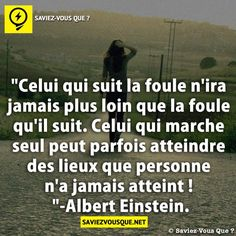 Citation Einstein Positive And Negative, Positive Attitude, Mots Forts, Magic Quotes, Strong Words, French Quotes, One Liner, Quotes About Strength, Albert Einstein
